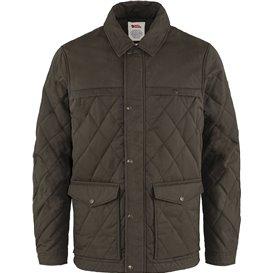 Fjällräven Övik Wool Padded Jacket Herren Winterjacke Steppjacke dark olive hier im Fjällräven-Shop günstig online bestellen
