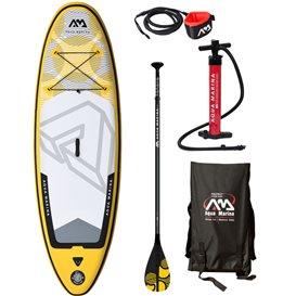 Aqua Marina Vibrant 8.0 TESTBOARD Set aufblasbares Jugend Stand Up Paddle Board