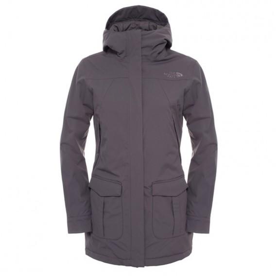 huge discount 4e042 9fc4c The North Face NSE Jacket Damen Winterjacke graphite grey