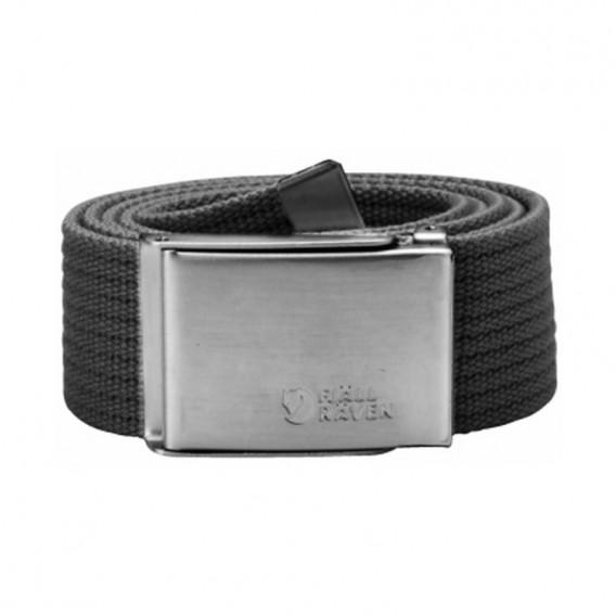 Fjällräven Canvas Belt Gürtel Stoffgürtel dark grey hier im Fjällräven-Shop günstig online bestellen