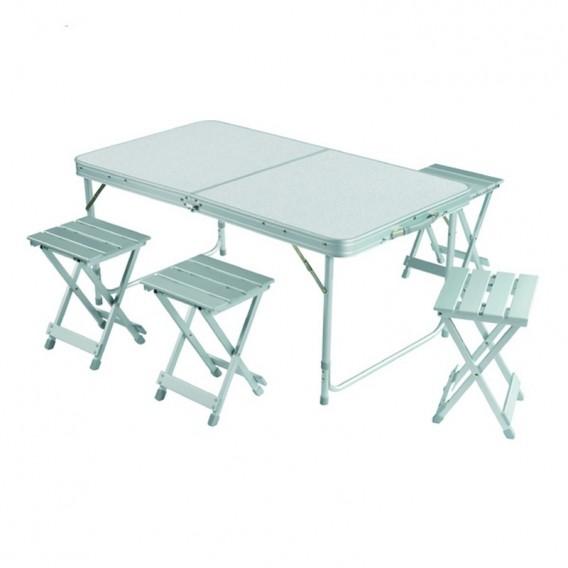 Grand Canyon Koffertisch mit 4 Hockern Campingtisch aus Aluminium im ARTS-Outdoors Grand Canyon-Online-Shop günstig bestellen