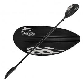 ExtaSea Fiberglas Paddel Kajak Doppelpaddel 230cm 2-teiliges Paddel