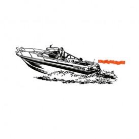 Sevylor Wakeboard & Wasserski Flagge Boots Zubehör SF100-E