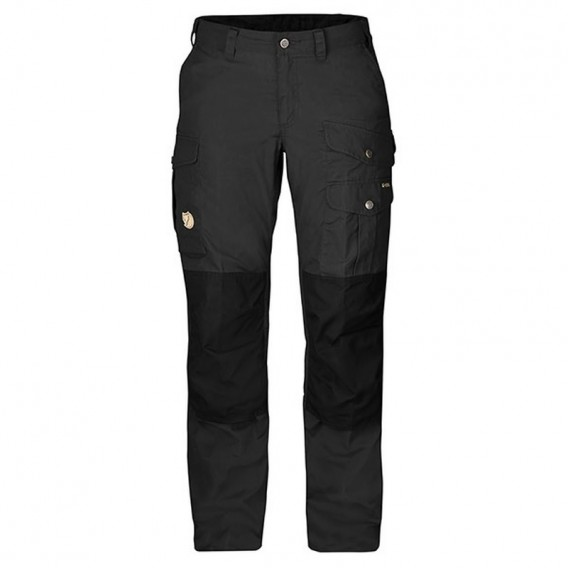 Fjällräven Barents Pro Trousers Damen Wanderhose Outdoorhose dark grey-black hier im Fjällräven-Shop günstig online bestellen