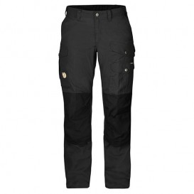 Fjällräven Barents Pro Trousers Damen Wanderhose Outdoorhose dark grey-black