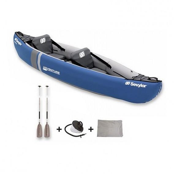Sevylor Adventure Kit Kajak Set mit KC-Compakt215 Paddel + Tasche + Fußpumpe im ARTS-Outdoors Sevylor-Online-Shop günstig bestel