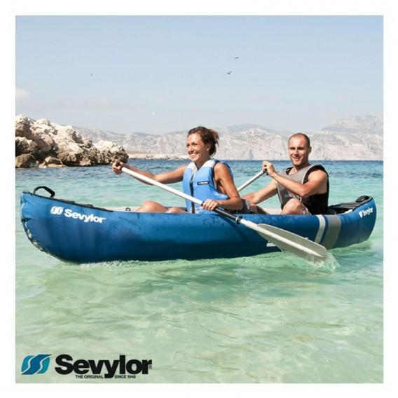 Sevylor Adventure Kit Kajak Set mit KC-Compakt 215 Paddel + Tasche + Fußpumpe hier im Sevylor-Shop günstig online bestellen