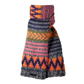 Barts Niki Scarf Kinder Strickschal dark heather