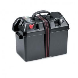 Minn Kota Power Center Batteriebox Batteriekasten mit Anzeige und Anschlüssen