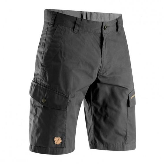 Fjällräven Ruaha Shorts Herren kurze Outdoorhose Wanderhose dark grey hier im Fjällräven-Shop günstig online bestellen