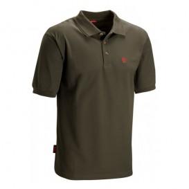 Fjällräven Crowley Piqué Shirt Herren Poloshirt dark olive