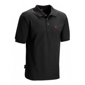 Fjällräven Crowley Piqué Shirt Herren Polohshirt black