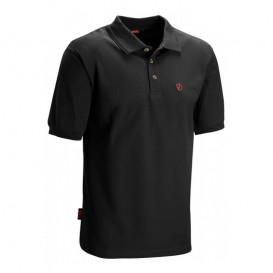 Fjällräven Crowley Piqué Shirt Herren Poloshirt black