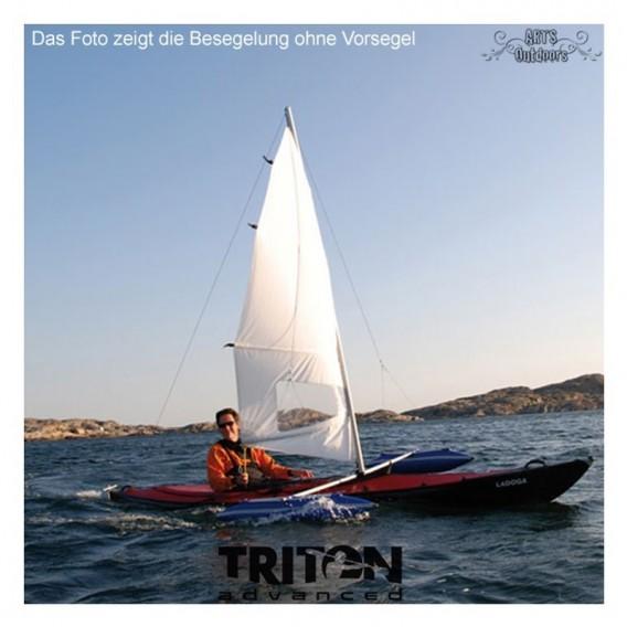Triton Besegelung groß inkl. Ausleger + Vorsegel für Ladoga 1 Advanced hier im Triton-Shop günstig online bestellen