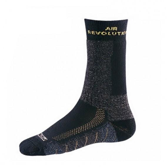 Meindl Revolution Socks Wandersocken Trekkingsocken anthrazit-gelb hier im Meindl-Shop günstig online bestellen