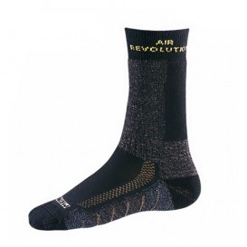 Meindl Revolution Socks Wandersocken Trekkingsocken anthrazit-gelb