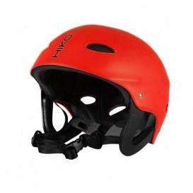 Hiko Buckaroo Kajakhelm Wassersport Paddel Helm mit Ohrenschutz red