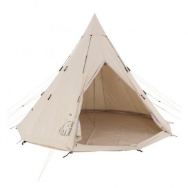 Nordisk Alfheim 19.6 Basic Cotton Tent Baumwoll Gruppenzelt Tipi für 1-8 Personen