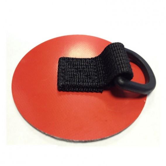 Gumotex D-Ring 80mm Beschlag zum Aufkleben rot im ARTS-Outdoors Gumotex-Online-Shop günstig bestellen