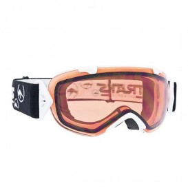 Trans Master Girl Damen Snowboard Brille Goggle white orange