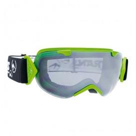 Trans Master Girl Damen Snowboard Brille Goggle green black-silver
