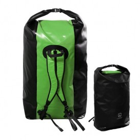 Langer Packsack Rucksack Seesack grün-schwarz 180 Liter