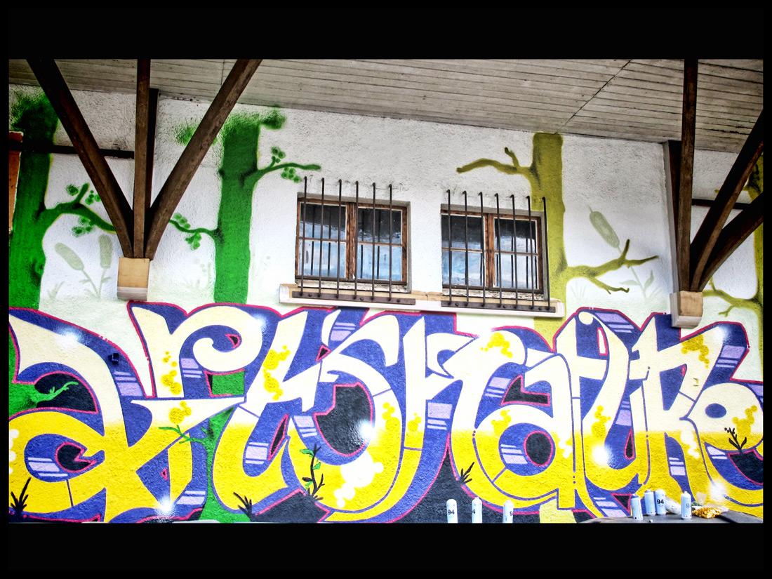 Arts Outdoors-Graffiti-Schriftzug
