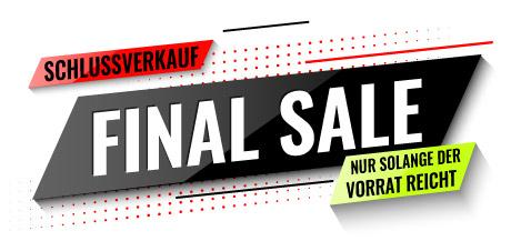 Schlussverkauf Sale WSV SSV Schnäppchen Angebote